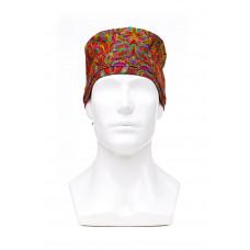 Медицинская шапочка с рисунком для длинных волос Indian Lotus