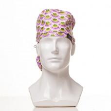Медицинская шапочка с рисунком для длинных волос Watermelon