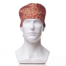 Медицинская шапочка с рисунком для коротких волос Bunch