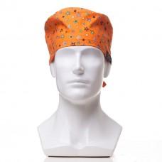 Медицинская шапочка с рисунком для коротких волос Multstar