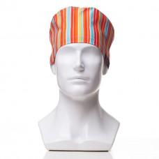 Медицинская шапочка с рисунком для коротких волос Mars