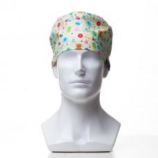Медицинская шапочка с рисунком для коротких волос Toys