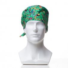 Медицинская шапочка с рисунком для коротких волос Snakes