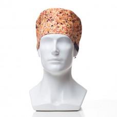 Медицинская шапочка с рисунком для коротких волос eKonfeti