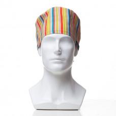 Медицинская шапочка с рисунком для коротких волос Inda