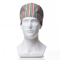 Медицинская шапочка с рисунком для коротких волос Author