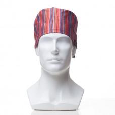 Медицинская шапочка с рисунком для коротких волос Ethnic