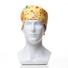 Медицинская шапочка с рисунком для коротких волос Dwarves