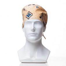 Медицинская шапочка с рисунком для коротких волос Mexico
