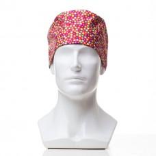 Медицинская шапочка с рисунком для коротких волос Field