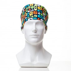 Медицинская шапочка с рисунком для коротких волос Digits