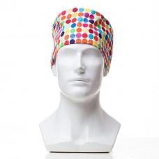 Медицинская шапочка с рисунком для коротких волос Lines