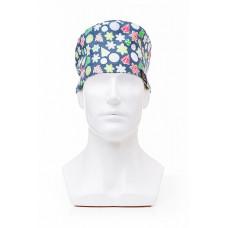 Медицинская шапочка с рисунком для коротких волос Christmas Toy
