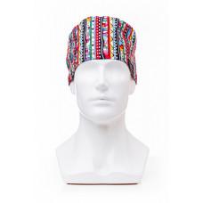 Медицинская шапочка с рисунком для коротких волос Sweet Home