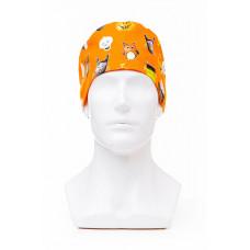 Медицинская шапочка с рисунком для коротких волос Halloween