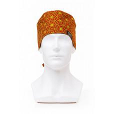 Медицинская шапочка с рисунком для коротких волос Mandala