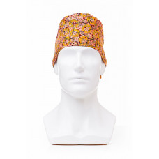 Медицинская шапочка с рисунком для коротких волос Klimt curls