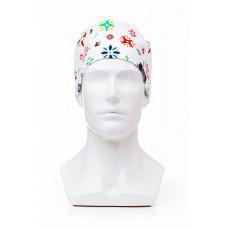 Медицинская шапочка с рисунком для коротких волос Crystal