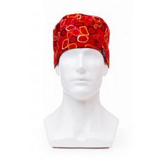 Медицинская шапочка с рисунком для коротких волос Small window