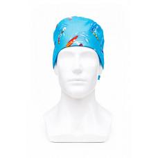 Медицинская шапочка с рисунком для коротких волос Surfer