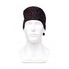 Медицинская шапочка с рисунком для коротких волос Night flicker