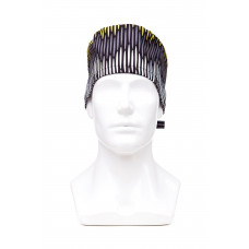 Медицинская шапочка с рисунком для коротких волос Sound wave