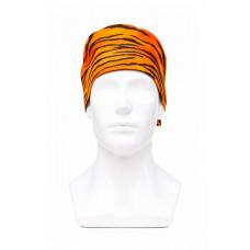 Медицинская шапочка с рисунком для коротких волос Tiger