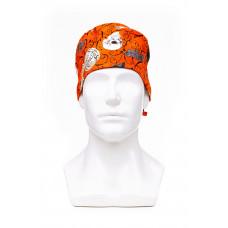Медицинская шапочка с рисунком для коротких волос Halloween 1000