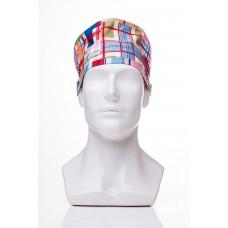 Медицинская шапочка с рисунком для коротких волос Vanguard