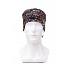 Медицинская шапочка с рисунком для длинных волос  Halloween 2020
