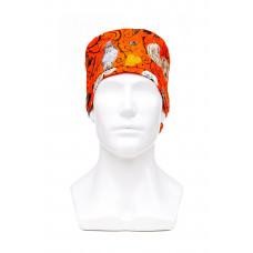 Медицинская шапочка с рисунком для длинных волос Halloween 1000