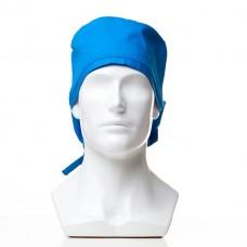 Медицинская шапочка однотонная для длинных волос CLASSIC LONG ТИСИ 120 грамм/м2 35ХЛ/65ПЭ