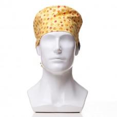 Медицинская шапочка с рисунком для коротких волос Cheese