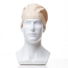 Медицинская шапочка с рисунком для коротких волос Blotches