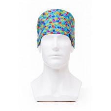 Медицинская шапочка с рисунком для коротких волос Acorn
